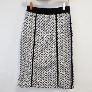 Le Lis Stitch Fix Pencil Skirt Chelsea Piped Detai